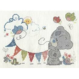 Fun In The Sun Cross Stitch Kit - Tiny Tatty Teddy