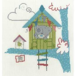 Home Tweet Home Cross Stitch Kit - Tiny Tatty Teddy