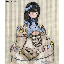 Gorjuss Sweet Cake Cross Stitch Kit