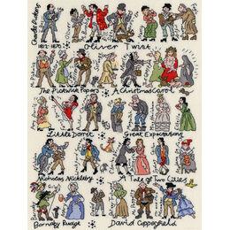 Dickens Cross Stitch Kit