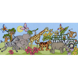 Safari Fun Cross Stitch Kit