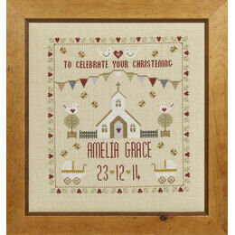 Christening Sampler Cross Stitch Kit