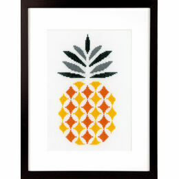 Pineapple Cross Stitch Kit