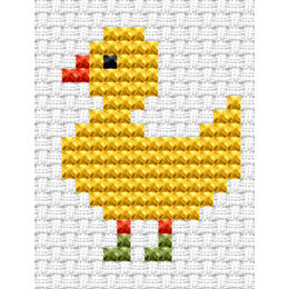 Easy Peasy Duckling Cross Stitch Kit