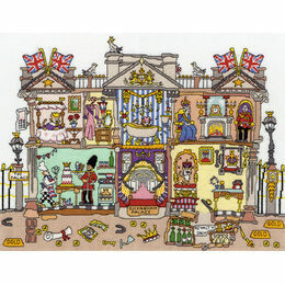 Cut Thru' Buckingham Palace Cross Stitch Kit