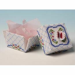 Butterfly Box 3D Cross Stitch Kit