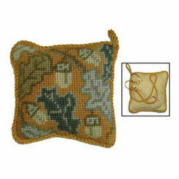 Golden Acorn Pin Cushion Tapestry Kit