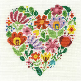 Bouquet Of Love Cross Stitch Kit