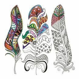 Feathers Zen Colour Kit