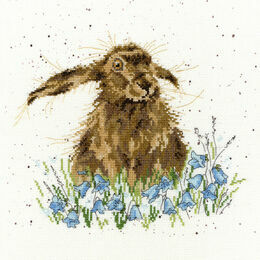 Bright Eyes Cross Stitch Kit