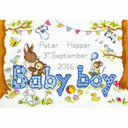 Bunny Love Boy Cross Stitch Kit
