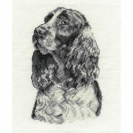 Springer Spaniel Cross Stitch Kit