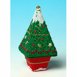 Snow Tree 3D Cross Stitch Kit
