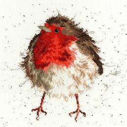 Jolly Robin Cross Stitch Kit