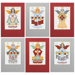 Angels Christmas Card Kits (set of 6)