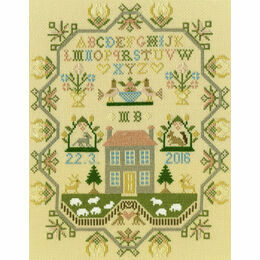 Sheep May Safely Graze Cross Stitch Kit
