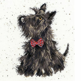 Hannah Dale Scottie Cross Stitch Kit