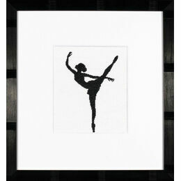 Ballet Silhouette 2 Cross Stitch Kit