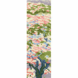A Tree In Blossom Bookmark Cross Stitch Kit