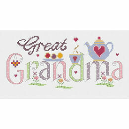 Great Grandma Cross Stitch Kit