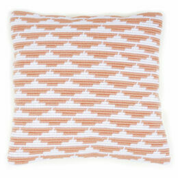 Waves Angled Clamping Stitch Cushion Panel Kit