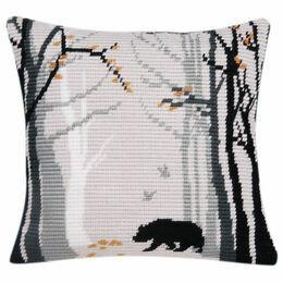 Bruno Angled Clamping Stitch Cushion Panel Kit