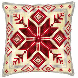 Geometric 1 Chunky Cross Stitch Cushion Panel Kit