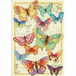 Butterfly Beauty Cross Stitch Kit