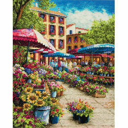 Provence Market Cross Stitch Kit