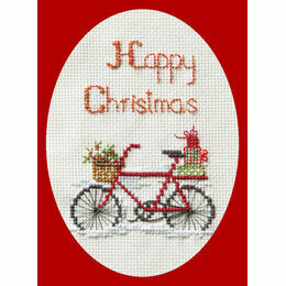 Christmas Delivery Cross Stitch Card Kit