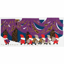 Tomte Parade Cross Stitch Kit