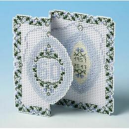 Diamond Anniversary 3D Cross Stitch Card Kit