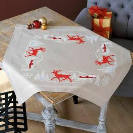 Norwegian Winter Tablecloth Cross Stitch Kit