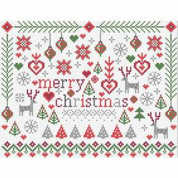 Little Merry Christmas Cross Stitch Kit
