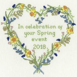 Spring Celebration Cross Stitch Kit