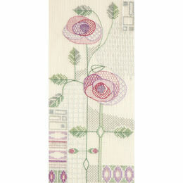 Morning Rose Cross Stitch Kit