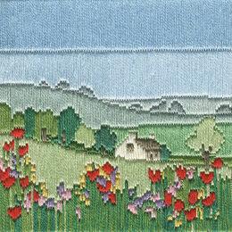 Meadow Long Stitch Kit