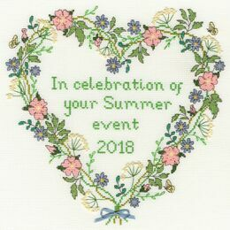 Summer Celebration Cross Stitch Kit