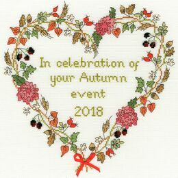 Autumn Celebration Cross Stitch Kit