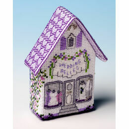 Wedding Belles Fridge Magnet 3D Cross Stitch Kit