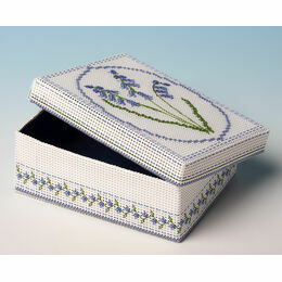 Bluebells Box 3D Cross Stitch Kit