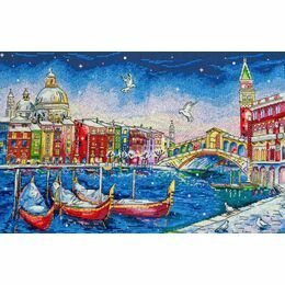 Holiday Venice Cross Stitch Kit