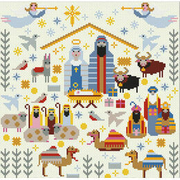 Christmas Nativity Sampler Cross Stitch Kit