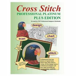 Cross Stitch Professional Platinum Plus Design Software - DOWNLOAD VERSION