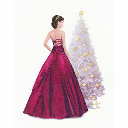 Holly Cross Stitch Kit