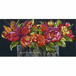 Flowers Of Joy Cross Stitch Kit