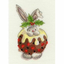 Bebunni - Christmas Pudding Cross Stitch Kit