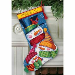 Freezin' Season Stocking Tapestry Kit