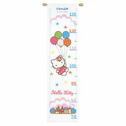 Hello Kitty Height Chart Cross Stitch Kit