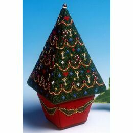 Large Christmas Tree 3D Cross Stitch Kit